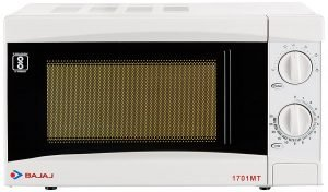 Best microwave oven to buy Bajaj 17 L Solo Microwave Oven