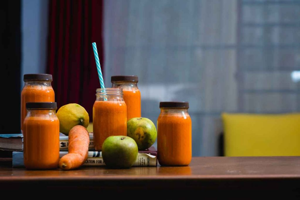Nutrients Fruit Juice from Cold Press Juicer